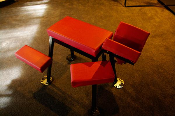 Spanking-bench